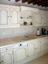 cuisine blanc cérusé cuisine ceruse beige idées décoration intérieure
