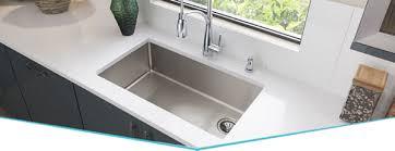Crosstown Stainless Steel Kitchen Sinks Elkay - Sink of kitchen