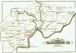 Washington County Map Constitution Ohio About