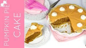 thanksgiving pie cake thanksgiving pumpkin pie cookie cake lindsay ann bakes youtube