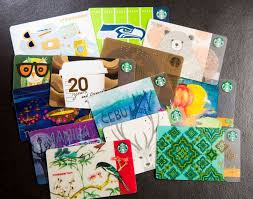 starbuck gift cards where in the world starbucks cards from around the globe