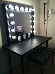 Vanity Desk Mirror Desk Homemade Vanity Mirror With Lights And Table Vanity Desk