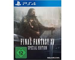 Saturn Bad Homburg Final Fantasy Xv 15 Steelbook Special Edition Ps4 5021290073746 Ebay