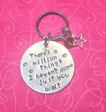 ketchup keychain there u0027s a million things i haven u0027t done just you wait