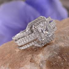 simulated engagement ring 9 best elanza collection images on rings