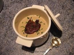 cuisiner un foie gras cru velouté de cèpes au foie gras cuisine de tantine