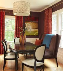 capiz shell curtain wall dining room contemporary with wainscoting