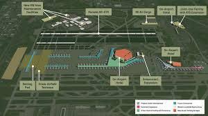 New York Airport Map Terminals by Work To Start On O U0027hare U0027s 70m Concourse Expansion Project