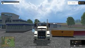 kenworth truck repair kenworth t800 plow truck csi v1 fs15 farming simulator 2017