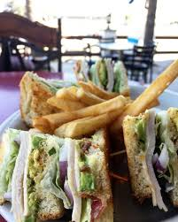 Classic Club Sandwich with Fries Picture of Spoon s Grill & Bar