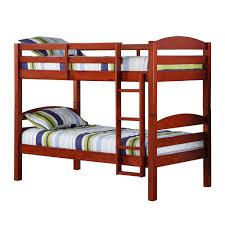Cherry Bunk Bed Walker Edison Furniture Company Carolina Wood Bunk