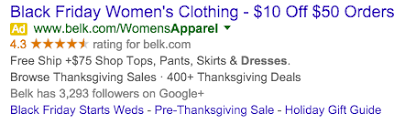 belk pre black friday sale last minute tips for holiday ad extensions ppc hero