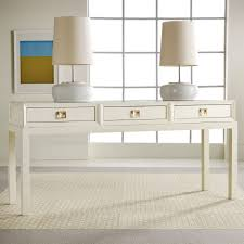 Narrow Console Table With Drawers Console Tables Awesome White Consolee With Drawers Small Colors