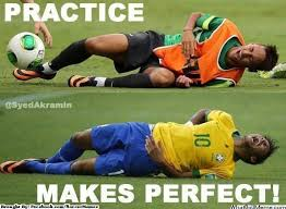 Neymar Memes - football memes on twitter neymar practice makes perfect http t