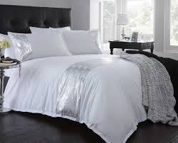 white and silver bedroom decorate my house