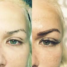 lash extensions u0026 micro blade eyebrow tattoo before u0026 after yelp