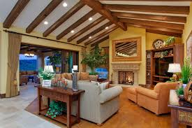 Tuscan Family Room Houzz - Tuscan family room