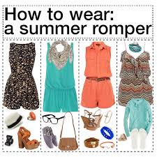 dresses and rompers