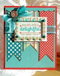 242 best cards bunting images on pinterest buntings birthday