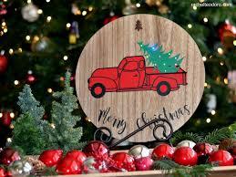 Lighted Christmas Trees Lighted Christmas Tree Truck Rachel Teodoro