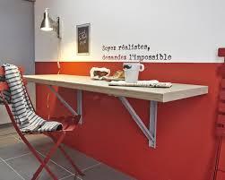 table amovible cuisine gagner de l espace avec cette table rabattable leroy merlin