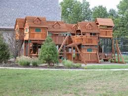 Extreme Backyard Design by Backyard Playsets St Louis Backyard And Yard Design For Village