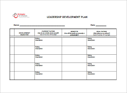 plan templates 6 free personal development plan templates excel