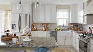 granite ideas for white kitchen cabinets designer look kitchen ideas
