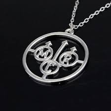 silver rock necklace images Wholesale fashion silver rock band my chemical romance music metal jpg