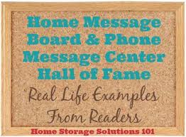command center home message board of fame
