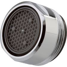 Kitchen Faucet Swivel Aerator by Delta 2 2 Gpm Aerator With 15 16 In 27 Male Thread In Chrome