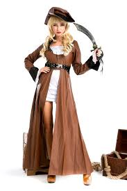 walson 2015 women leather pirate costumes carnival costumes high