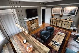 new living room restoration hardware slate gray paint africa art