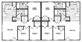 Modular Duplex Floor Plans Duplex Model 3060