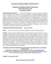 Electronic Technician Cover Letter Support Technician Cover Letter