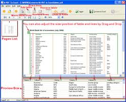 pdf table to excel convert pdf table to excel option for custom pdf conversion to excel