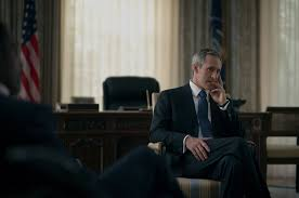 house of cards season two interview with president walker