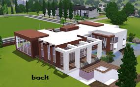 stylish design 9 sims 3 modern house plans blueprint modern house