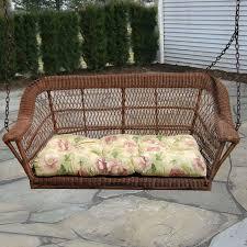 wicker porch swing bed home design ideas