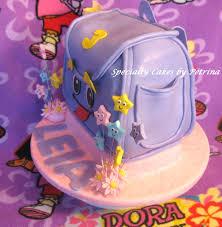 the explorer backpack cake
