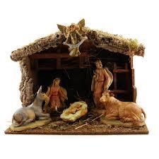 pellegrini nativity set w stable 7 pc the catholic company