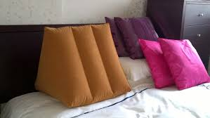 pillows for back support in bed sit up in bed back rest elderly disabled bedbound comfort back