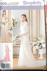 wedding dress sewing patterns simplicity sewing pattern bridal evening gown bridesmaid prom