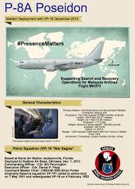navy p 8a poseidon arrives in australia as jetliner search widens