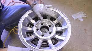 alumi blast how to paint aluminum wheels
