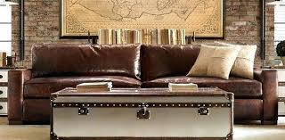 extra deep leather sofa deep leather sofa restoration hardware with the extra deep couch for