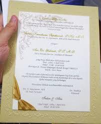 cara membuat surat undangan pernikahan sendiri 25 desain undangan pernikahan muslim terpopuler 2018 undangan terbaru