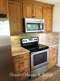 kitchen remodel in boulder co bristol door rustic alder wood