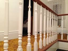 Banister House I Bought The House Grew Up In Meanwhile At Manse Front Staircase