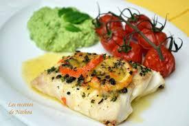 cuisiner le cabillaud recette dos de cabillaud rôti au beurre d agrumes et poivre de